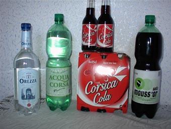 eaux fraîches sans alcool